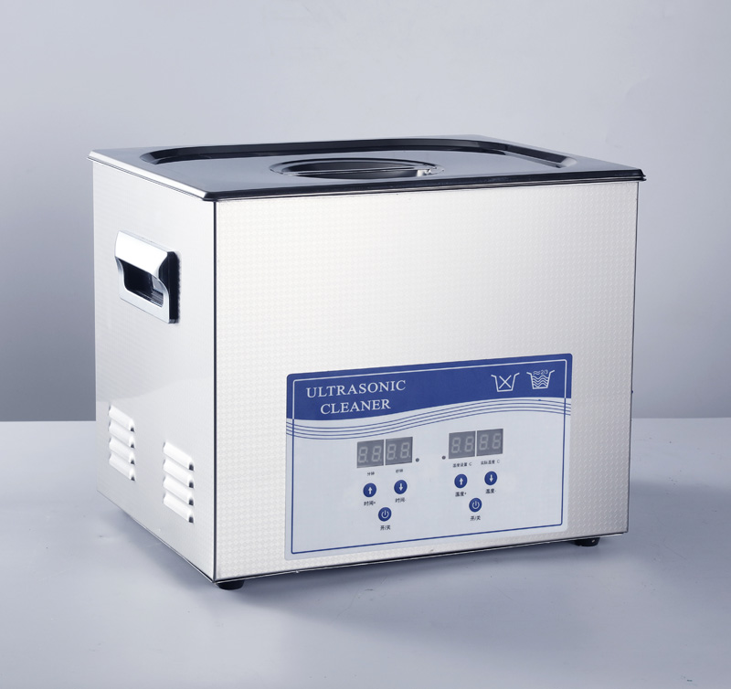 degassing an ultrasonic cleaner